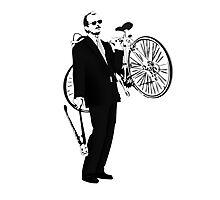 Bike Thief Photographic Print
