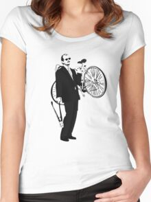 Bike Thief Women's Fitted Scoop T-Shirt
