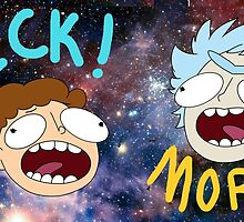 Rick and Morty (Ver. B) by Pumpkiney