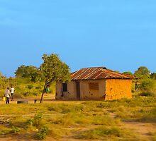 Tribal house outside Mombasa, Kenya by Atanas Bozhikov Nasko