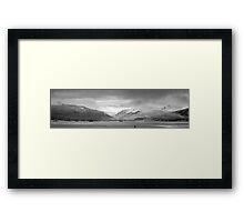 Wintery Holy Loch Framed Print