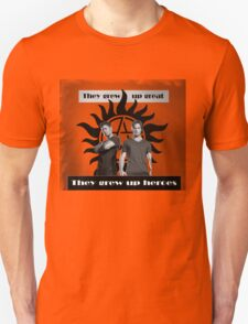 They grew up heroes T-Shirt