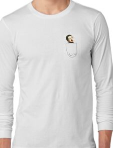 Retarded Jimmy in pocket Long Sleeve T-Shirt