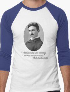 Sexy Tesla 01 Men's Baseball ¾ T-Shirt