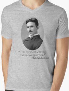 Sexy Tesla 01 Mens V-Neck T-Shirt