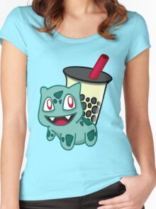 Bobasaur Women's Fitted Scoop T-Shirt
