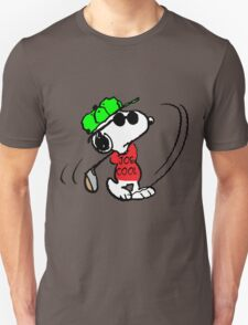 Joe Cool Swinging the Golf Club T-Shirt
