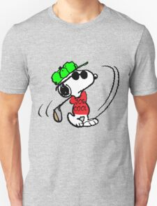 Joe Cool Swinging the Golf Club T-Shirt