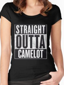 Straight Outta Camelot Women's Fitted Scoop T-Shirt