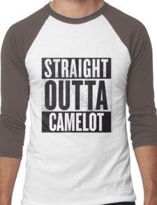 Straight Outta Camelot Men's Baseball ¾ T-Shirt