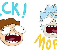 Rick and Morty (Ver. A) by Pumpkiney