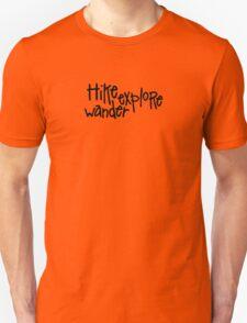 Hike Wander Explore Pattern T-Shirt