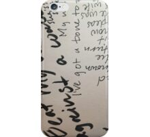 Words 6  iPhone Case/Skin