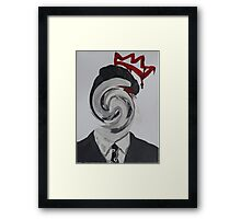 Faceless Moriarty Framed Print