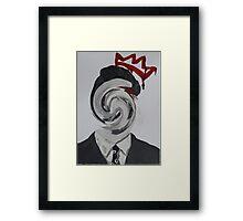 Faceless Moriarty Framed Print