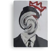 Faceless Moriarty Metal Print