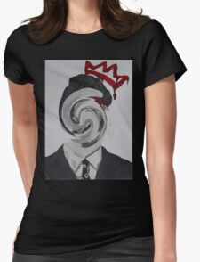 Faceless Moriarty Womens Fitted T-Shirt