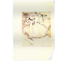 The Tailor of Gloucester Beatrix Potter 1903 0008 Out Walking Poster
