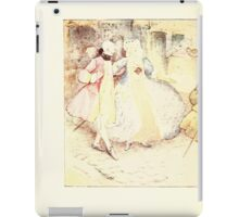 The Tailor of Gloucester Beatrix Potter 1903 0008 Out Walking iPad Case/Skin