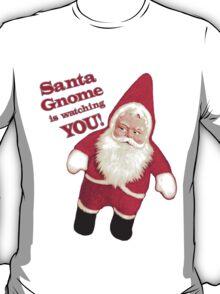 Funny Vintage Christmas Santa Gnome T-Shirt