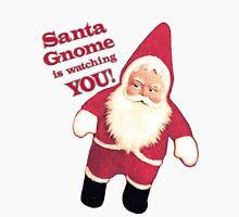 Funny Vintage Christmas Santa Gnome Unisex T-Shirt