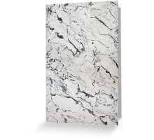 White Marble - Lucid Greeting Card
