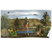 deer in need Poster