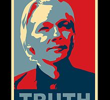 TRUTH, Julian Assange by monica90