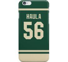 Erik Haula Jersey iPhone Case/Skin