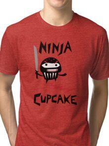 Ninja Cupcake - 2 Tri-blend T-Shirt