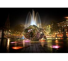 Fountains of Light Photographic Print