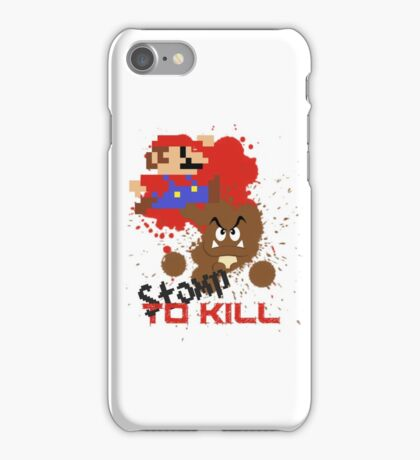 Stomp To Kill iPhone Case/Skin