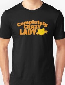 Completely Crazy CAT LADY T-Shirt