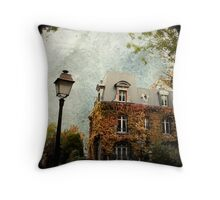 Autumnal House Throw Pillow