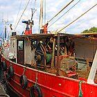 Fishing boat, Scotland by Malgorzata Larys
