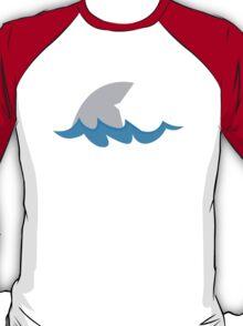 Shark fin in the water T-Shirt