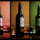 Wine Bottle Traffic Lights. by Ruth Jones
