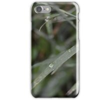 Water Drops Rest. iPhone Case/Skin