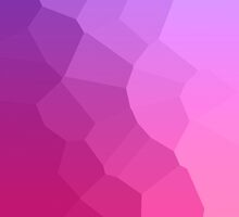 Purple to Pink Stained Glass Gradient by lolohannah