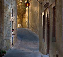 Mdina Ambient Light -- Malta by Edwin  Catania