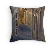 Mdina Ambient Light -- Malta Throw Pillow