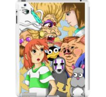 Characters of Spirited Away iPad Case/Skin