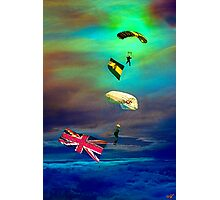 Falling From Heaven Photographic Print