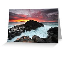 Fingal Head Dawn Greeting Card