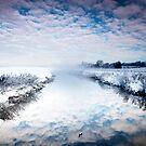 Mist Across The River by Mark Dobson