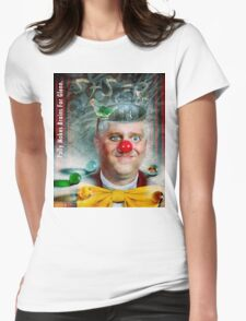 Polly Makes Brains For Glenn Womens Fitted T-Shirt
