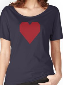 Upsdell Red  Women's Relaxed Fit T-Shirt