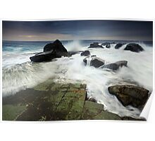 Forresters Beach Dawn Poster