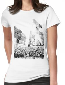 Glastonbury Flags Womens Fitted T-Shirt