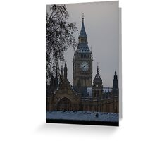 Westminster Snow Greeting Card